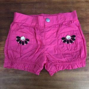 NWT Gymboree Pink Shorts 12-18m